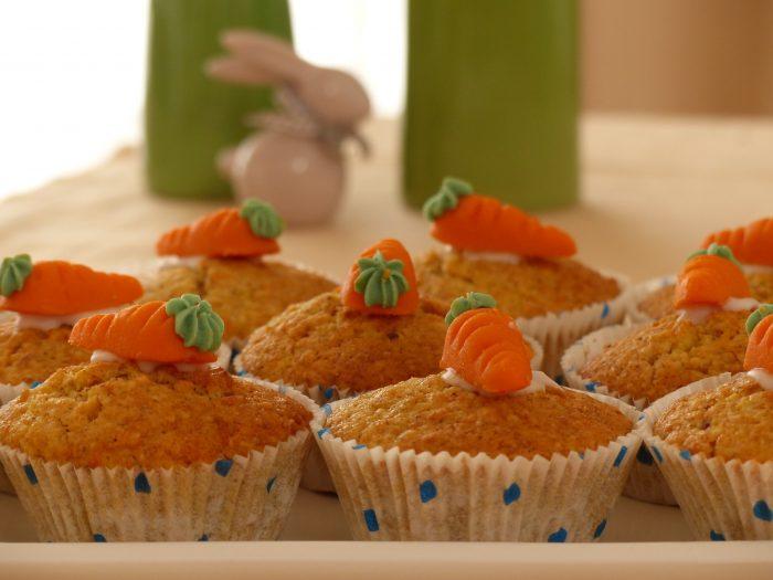 Cupcake à la carotte